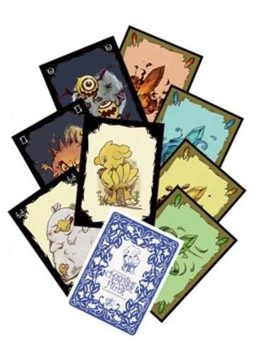 Chocobo Crystal Hunt Card Game