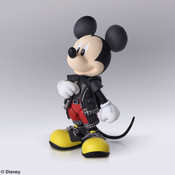 King Mickey Kingdom Hearts III Bring Arts Action Figure