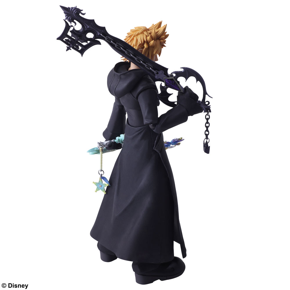 Roxas Kingdom Hearts III Bring Arts Figma Figure