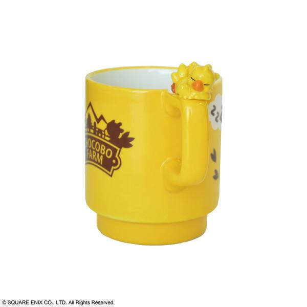 Chocobo Farm Character Figure Final Fantasy Mug