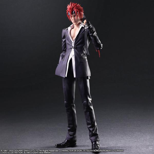 Reno Play Arts -Kai- Final Fantasy VII Remake Action Figure