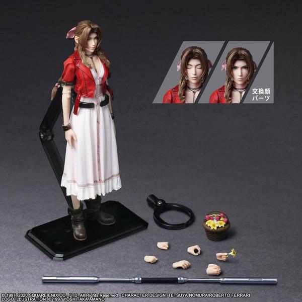 Aerith Gainsborough Play Arts -Kai- Final Fantasy VII Remake Action Figure