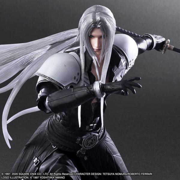 Sephiroth Play Arts -Kai- Final Fantasy VII Remake Action Figure