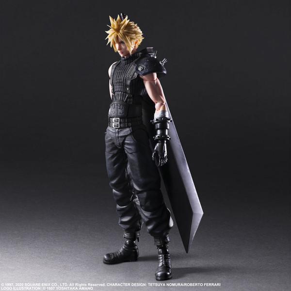 Cloud Strife Ver 2 Play Arts -Kai- Final Fantasy VII Remake Action Figure