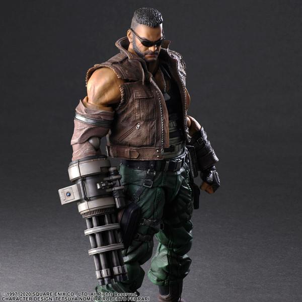 Barret Wallace Ver 2 Play Arts -Kai- Final Fantasy VII Remake Action Figure