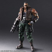 Barret Wallace Ver 2 Play Arts -Kai- Final Fantasy VII Remake Action Figure