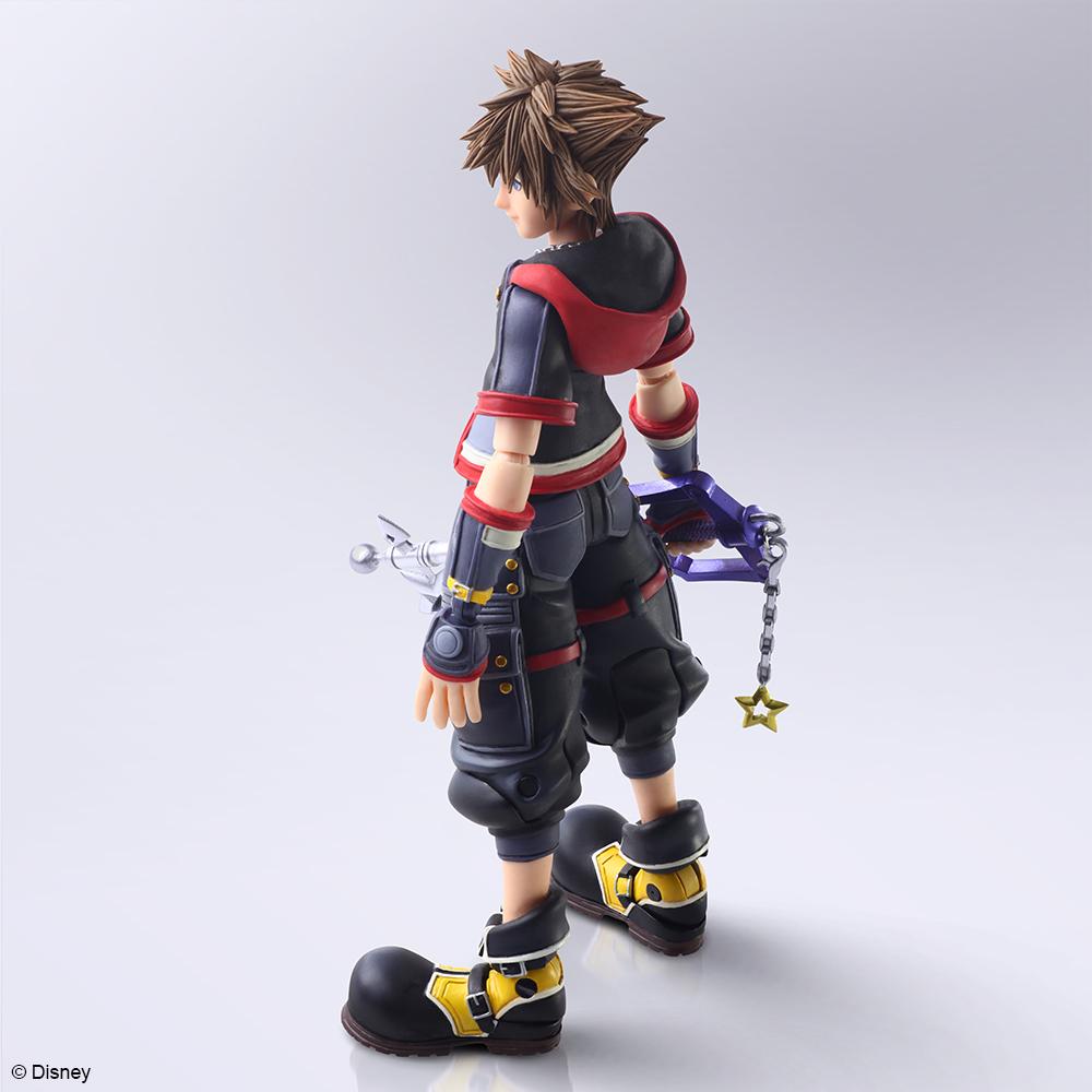 Sora Kingdom Hearts III Ver 2 Bring Arts Action Figure