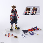 Sora Kingdom Hearts III Ver 2 Bring Arts Action Figure