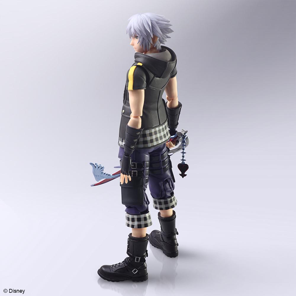 Riku Kingdom Hearts III Ver 2 Bring Arts Action Figure