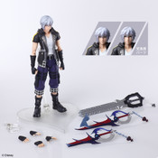 Riku Kingdom Hearts III Ver 2 Bring Arts Action Figure