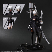 YoRHa No. 2 Type B Deluxe Ver NieR Automata Play Arts Kai Action Figure