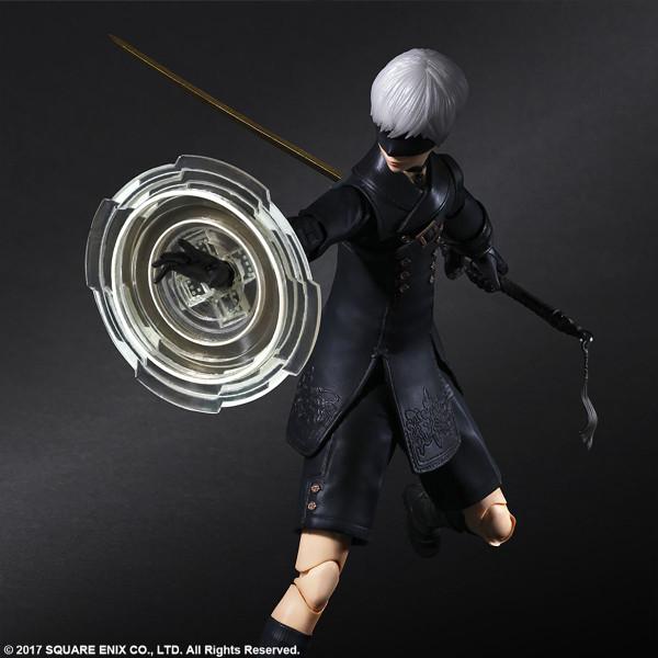 YoRHa No. 9 Type S NieR Automata Play Arts Kai Action Figure