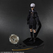 YoRHa No. 9 Type S NieR Automata Play Arts Kai Action Figure