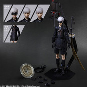 YoRHa No. 9 Type S Deluxe Ver NieR Automata Play Arts Kai Action Figure