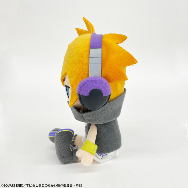 Neku Sakuraba The World Ends with You The Animation Sitting Plush