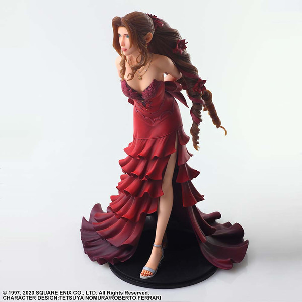 Aerith Gainsborough Dress Ver Final Fantasy VII Remake Static Arts Figure