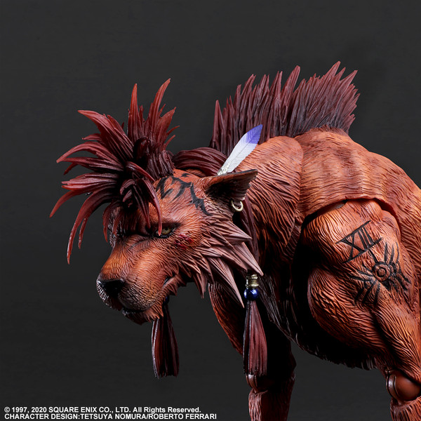 Red XIII Play Arts -Kai- Final Fantasy VII Remake Action Figure