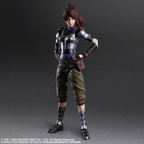 Jessie Play Arts -Kai- Final Fantasy VII Remake Action Figure