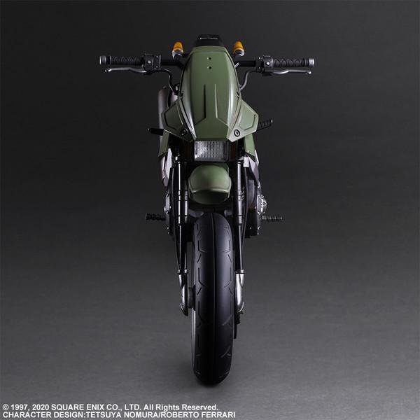 Jessie & Motorcycle Set Play Arts -Kai- Final Fantasy VII Remake Action Figure
