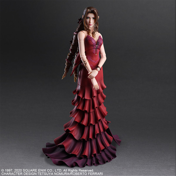 Aerith Gainsborough Dress Ver Final Fantasy VII Remake Play Arts Kai Action Figure