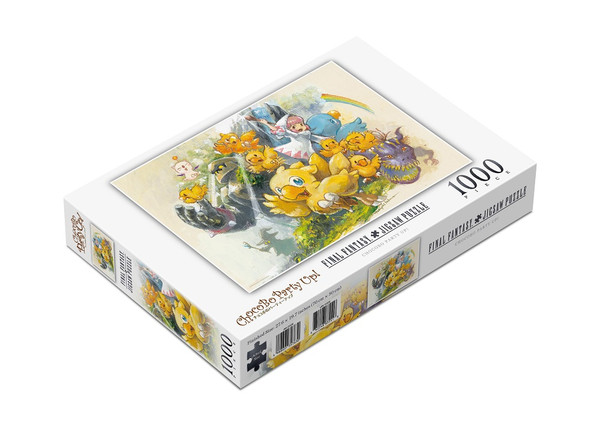 Chocobo Party Up! Final Fantasy 1000 Piece Jigsaw Puzzle