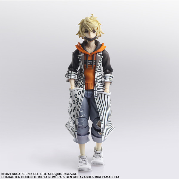Rindo NEO The World Ends with You Bring Arts Action Figure