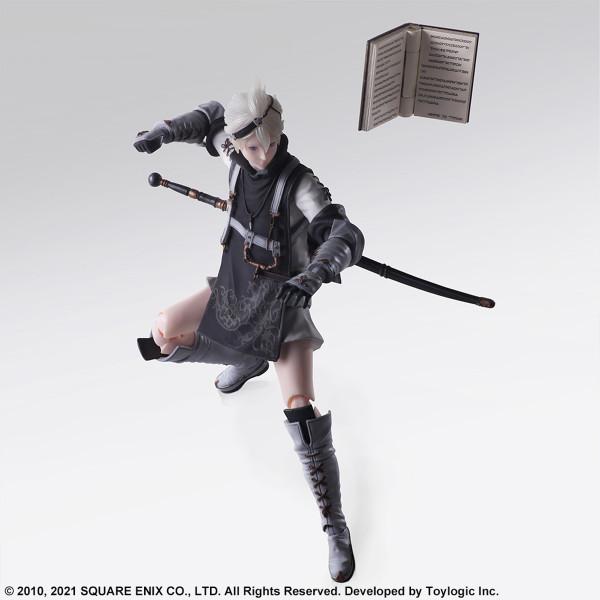 Young Protagonist Nier Replicant Ver 1.22474487139 Bring Arts Action Figure