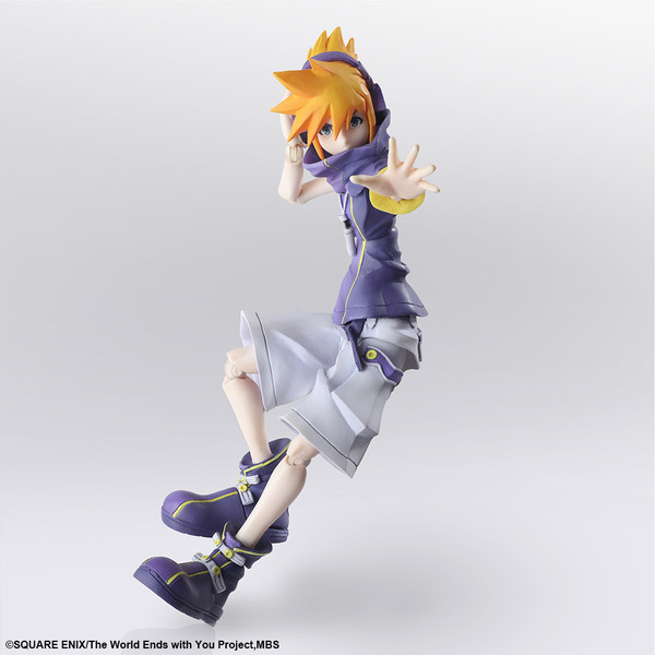 Neku Sakuraba The World Ends with You The Animation Bring Arts Action Figure