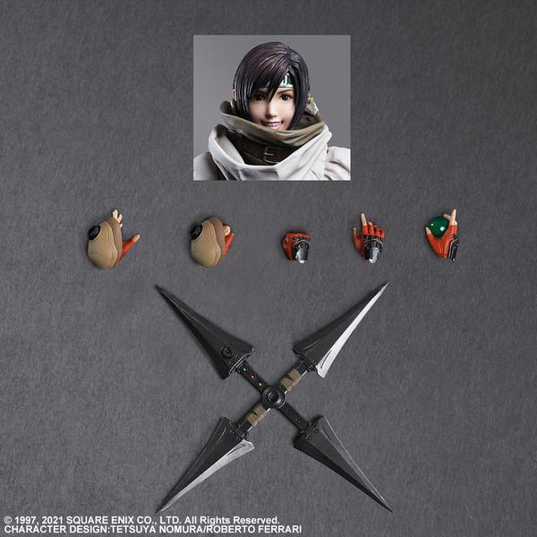 Yuffie Kisaragi Play Arts -Kai- Final Fantasy VII Remake Action Figure