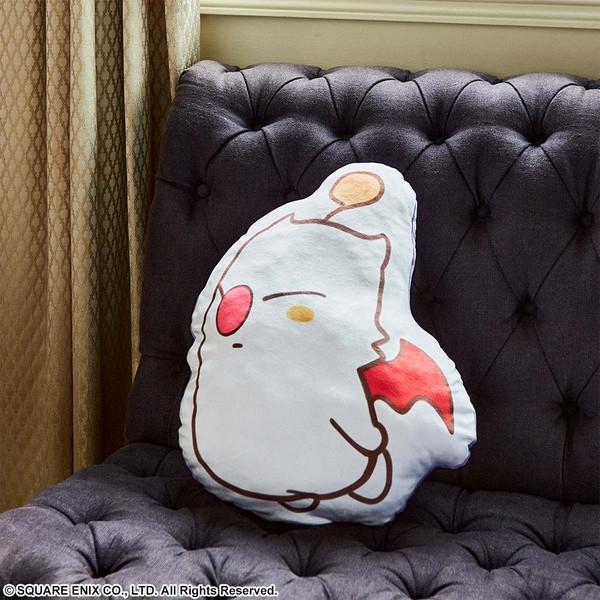 Moogle Final Fantasy VII Remake Fluffy Fluffy Die-cut Cushion