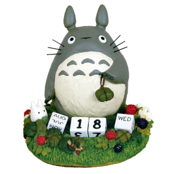 Totoro Perpetual Calendar My Neighbor Totoro Figure