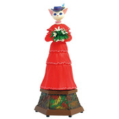 Louise Whisper of the Heart Benelic Music Box Statue