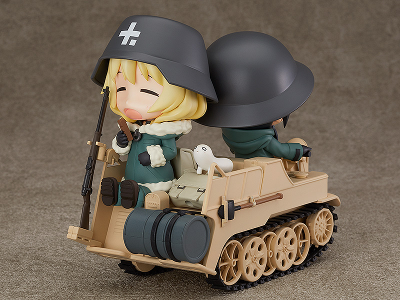 Kettenkrad Girls' Last Tour Nendoroid More Figure