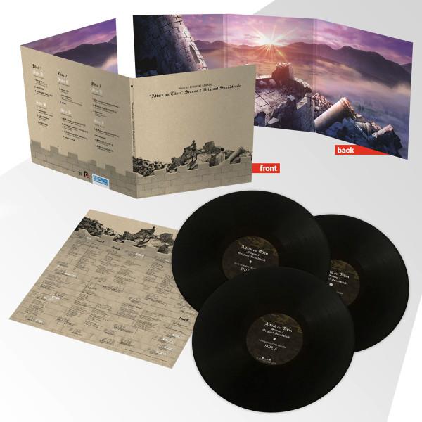 Attack on Titan Season 2 Vinyl Soundtrack