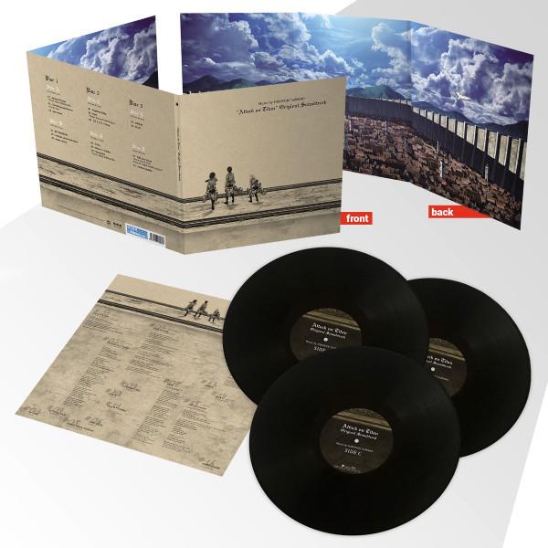 Attack on Titan Season 1 Vinyl Soundtrack