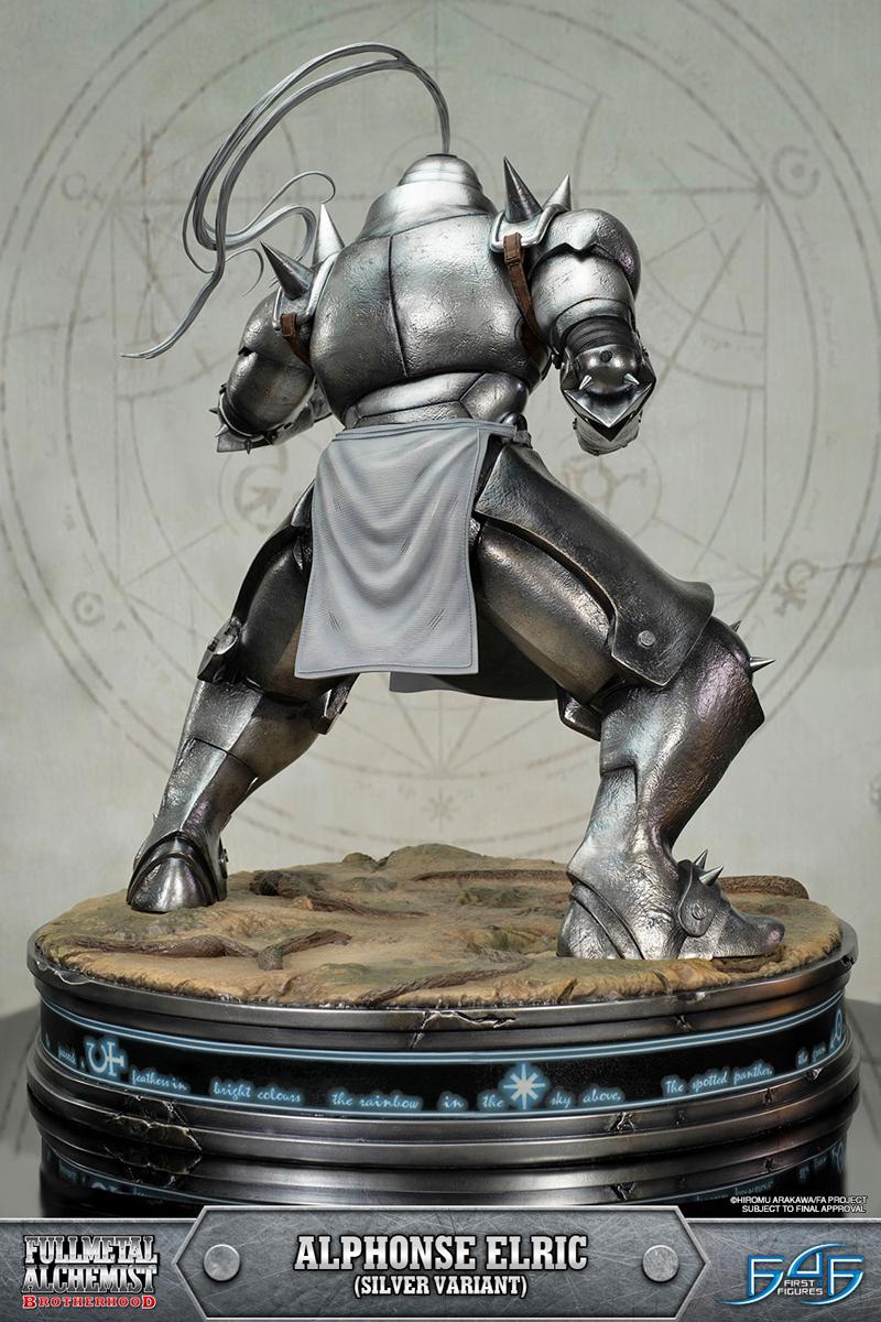 Alphonse Elric Silver Variant Edition Fullmetal Alchemist Brotherhood Figure