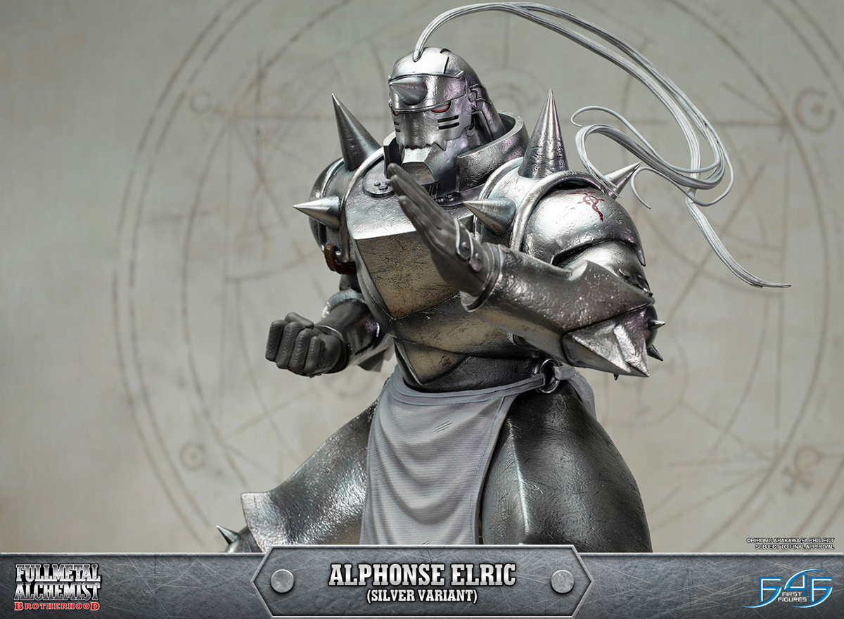Al Elric alphonse elric silver variant edition fullmetal alchemist brotherhood figure