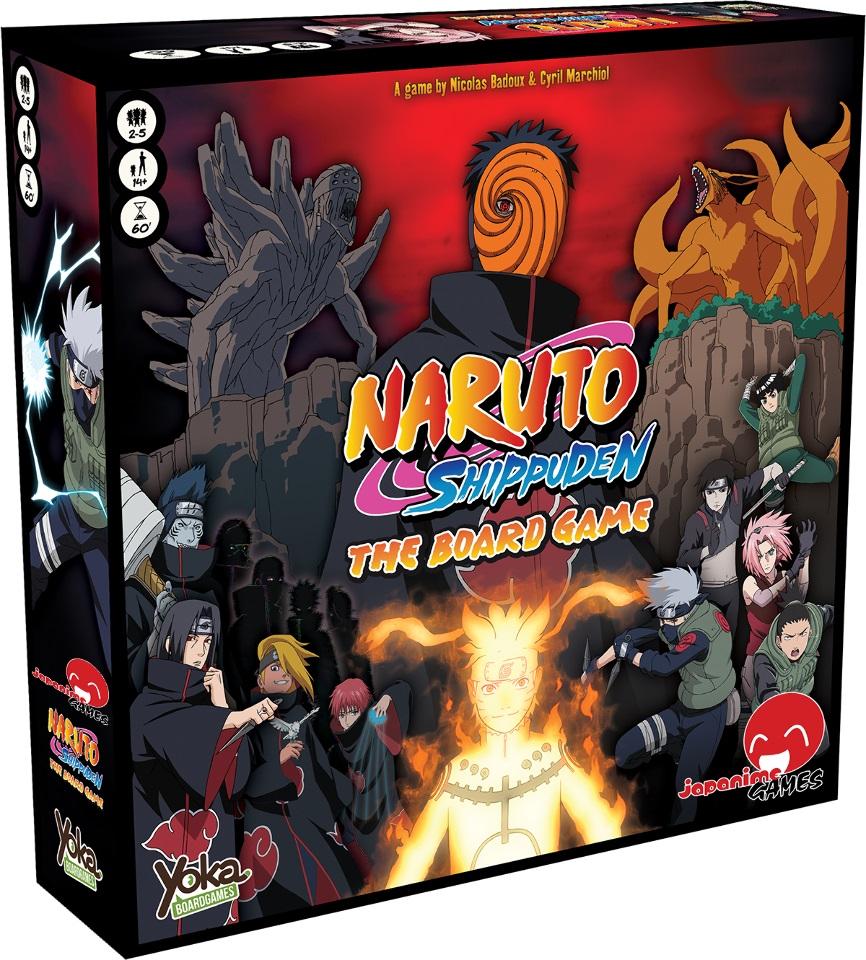 Naruto Shippuden The Board Game