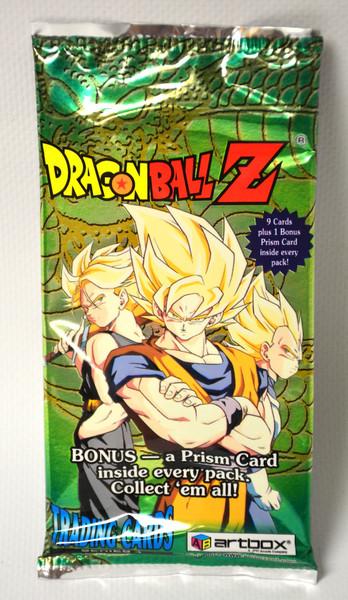 Dragon Ball Z Original Trading Cards - Series 4