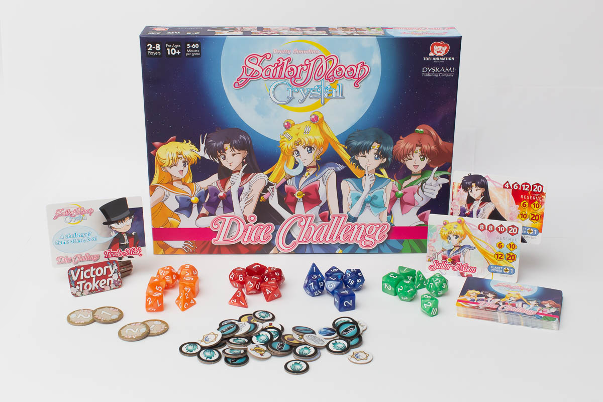 Sailor Moon Crystal Dice Challengers
