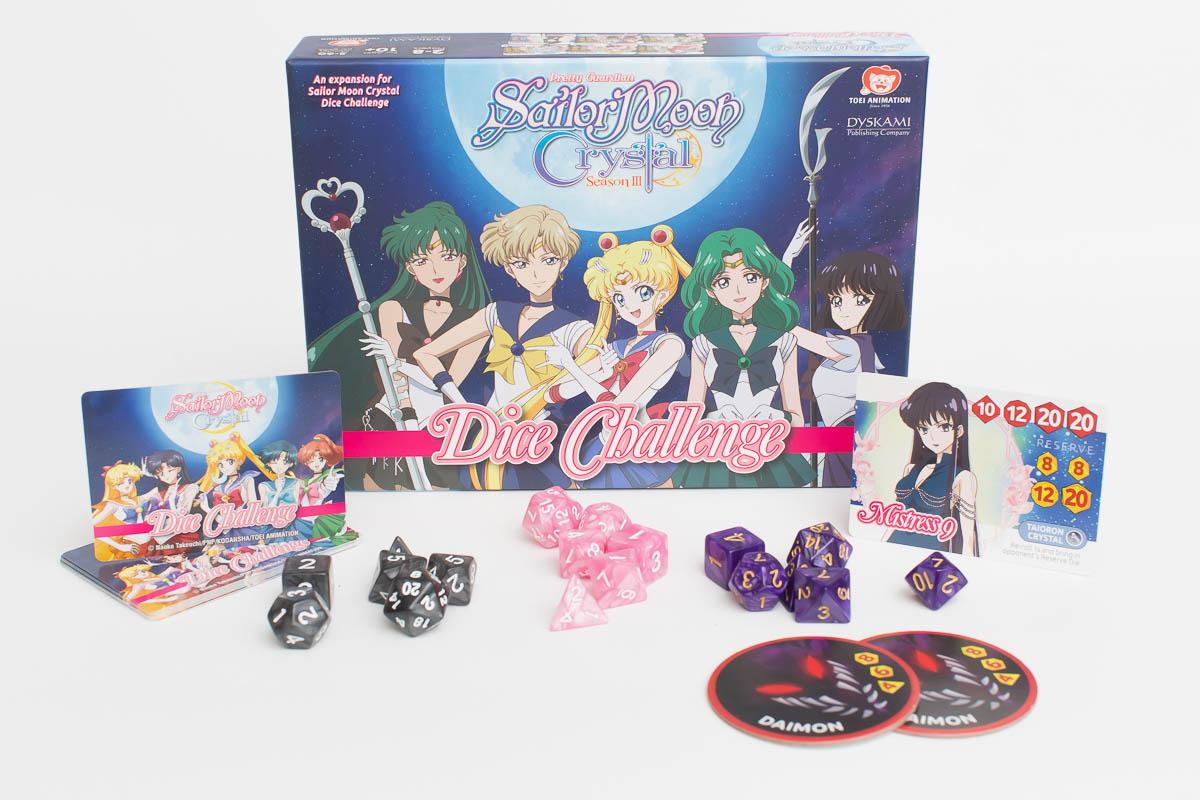Sailor Moon Crystal Dice Challengers Season 3 Game