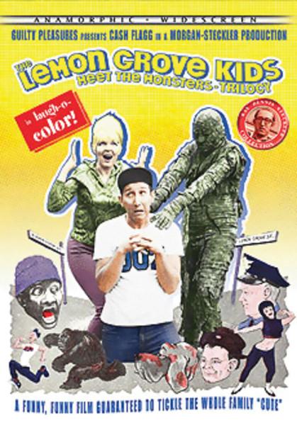 Lemon Grove Kids Meet the Monsters Trilogy DVD