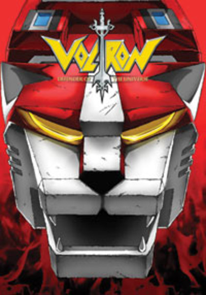 Voltron Defender of the Universe Set 4 DVD
