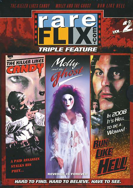 Rareflix Triple Feature 2 DVD 631595082494