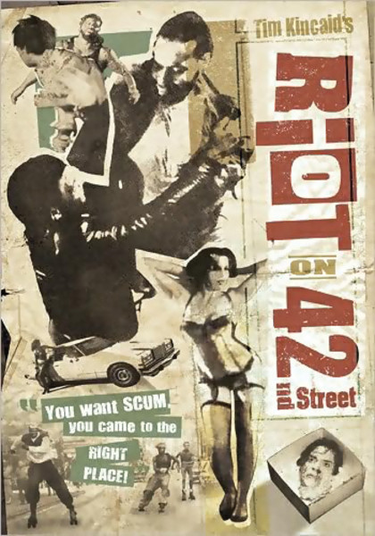 Riot on 42nd Street DVD