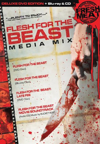 Flesh for the Beast Media Mix Blu-Ray/DVD (D) LiveAction 631595093490