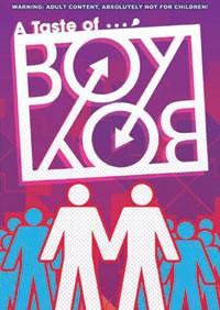 A Taste of Boy Boy DVD + A King's Lesson Manga Adult 631595093568