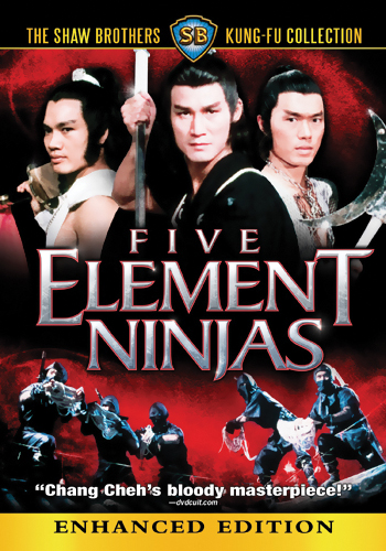 Five Element Ninjas DVD 631595094282
