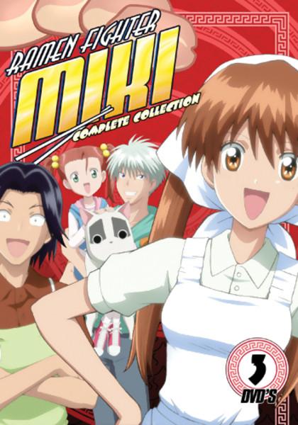 Ramen Fighter Miki Complete Collection DVD Litebox