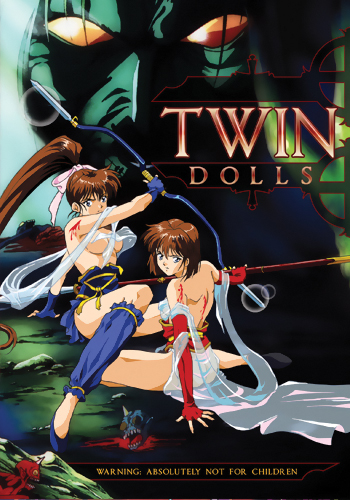 Twin Dolls DVD Adult 631595100563